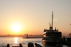 Istanbul sunset (roomman) Tags: city sunset sea people orange sun colour tower water beautiful station ferry port turkey river boat town waiting asia europe ship colours cross harbour pass atmosphere vessel istanbul company maritime wait passing transfer straits boar ido strait bosphorus maritim kadikoy sultanahment bosporus kiz eminn kulesi kizkulesi 2013 ferribot fatik id ferrybot bosfors vapuri marmama tremednous haydarpasar haydapasar