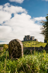 Rock of Cashel from Hore Abbey, Cashel, South Tipperary, Ireland. (Flash Parker) Tags: trip travel family ireland irish tourism nikon flash adventure nikkor isle emerald parker d800 ireland4510 ireland4496