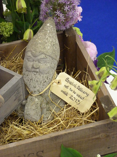 Gnome in Floral Design Marquee