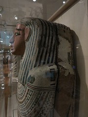 Side of the unnamed coffin (meechmunchie) Tags: coffin ancientegypt ptolemaic cincinnatiartmuseum lateperiod