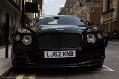 london speed continental gt bentley 2013