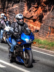 Wirral Egg Run 2012 (PhilnCaz) Tags: charity summer bike easter scenic scooter motorbike hdr highdynamicrange wirral merseyside photomatix tonemapped eggrun wirraleggrun philncaz wirraleggrun2012