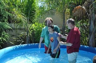 Photo Baptisms July 2012