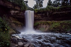 Misty Minnehaha (Doug Wallick) Tags: park water minnesota misty flow rocks dusk board minneapolis falls minnehaha lightroom a55 mygearandme mygearandmepremium mygearandmebronze mygearandmesilver mygearandmegold mygearandmeplatinum mygearandmediamond