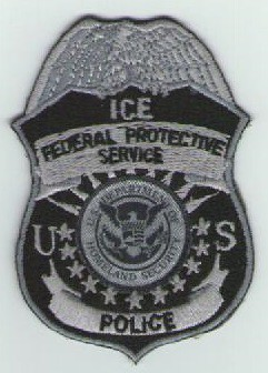 Federal Protective Service Badge Patch (Old Syle ICE POLICE)