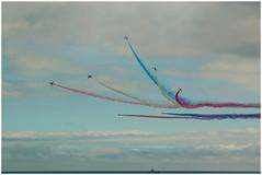 Bournemouth Airshow 2013-1384 (littlemissspidey) Tags: show air flight lancaster redarrows raf aerobatics battleofbritainmemorialflight bournemouthairfest2013