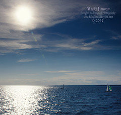 Sailing Under the Sun (Babylon and Beyond Photography) Tags: ocean new blue sea summer sun seascape london nature water sport sailboat fun boat day sailing dramatic longisland flare boating artful longislandsound orientpoint