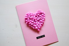 cuore matto (Diario de Roville) Tags: diy blog craft cuore amore carta cartolina crespa papelcrepe