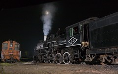 simmering beast (cnjgp7) Tags: railroad moon night train lumix trains steam crescent panasonic g5 afterdark steamlocomotive vario m43 1445mm f3556 blackriverandwestern micro43 microfourthirds lumixg5 dmcg5 panasonicg5 panasoniclumixg1445mmf3556ois