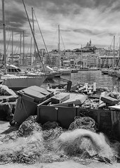 Vieux Port (StylelaB) Tags: life street city trip travel light shadow summer people urban france landscape photography marseille nikon south streetphotography photojournalism streetlife aixenprovence tourist provence moment sud d90 2013 stylelab ahuypham