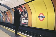 Underground (a l e x . k) Tags: portrait england london film underground subway pentax lx fa43mmf19