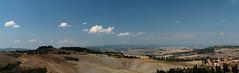 07.09.2013 - MONTICHIELLO - PIENZA - PANORAMA 2 (marcocorradi56) Tags: montichiello toscana tuskany italia italy siena array tuscany panorama landscape