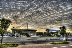 HDR Clouds (Sue Ann Simon) Tags: street sunset blur tree japan clouds wideangle 日本 500views nagasaki 長崎 dramaticclouds photomatix photomatixpro hdrsunset japanpictures hdrclouds 大村市 japanhdr japanphotos d7100 wideanglehdr caribbeanphotographer hdrblur tokina1116mm tokinaaf1116mmf28 trinidadphotographer contrastclouds depthoffieldphotography ttphotographer nagasakihdr trinidadianphotographer nikond7100 sueannsimon tokina超広角ズームレンズ morethan500views omuracityhall 大村市役所 trinidadianportraitphotographer