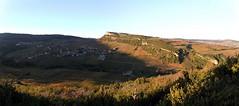 Ombre et soleil (Chemose) Tags: autumn automne burgundy bourgogne vignoble vigne vinyard solutré vergisson mâconnais