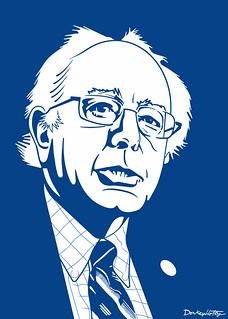 Bernie Sanders in Blue - will he run for President?, From ImagesAttr