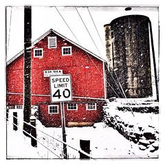 Camera Roll-106 (BB Wylie Walden) Tags: winter connecticut barns firstsnow unsafeatanyspeed rawmilk litchfieldcounty 40mph