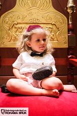 Yoel is a Big Boy ({fuh•tog•ruh•fee} via Rohama Bruk) Tags: boy party haircut cute smile hair children little jewish jews upshernish