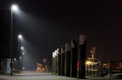 Hindenburgufer-05 (El-Moe) Tags: ocean light sea mist fog night wasser nebel nacht balticsea timeexposure ufer ostsee kiel wather bulbexposure langzeitbelichtung hindenburgufer nikond5100