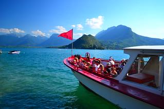 Baie de Talloires  sur le lac d'Annecy