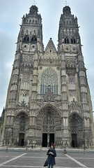 la Cattedrale di Saint Gratien a Tours