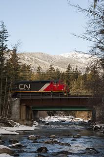 CN 517 North of McGuire