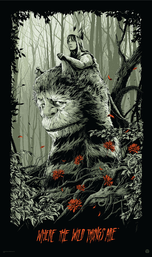 Mondo - Where the Wild Things Are《野獸冒險樂園》by Ken Taylor