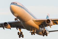 Kuwait Airways Airbus A340-300 9K-ANA (Phil Broad) Tags: london plane