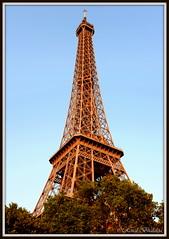 Red Eiffel (Renal Bhalakia) Tags: paris france tower evening europe eiffeltower eiffel toureiffel eveningview nikond600 renalbhalakia nikon28300mmvr