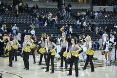DEACON DANCERS (SneakinDeacon) Tags: basketball acc cheerleaders gatech wakeforest ramblinwreck yellowjackets demondeacons deacs