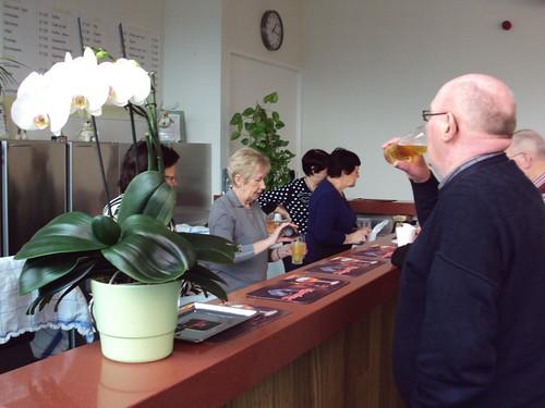 Koffietafel met pankoeken in Zonneheem