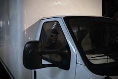 passanger (Mr.  Mark) Tags: halloween face night truck skeleton photo scary mask stock creepy markboucher