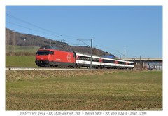 Re 460 InterRégio (CC72080) Tags: train sbb locomotive cff re460 interrégio