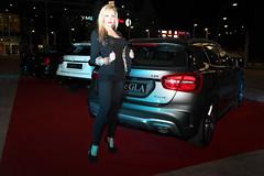 24-Citycar Sur presenta los nuevos Mercedes-Benz Clase C y GLA con la espectacular actuación de Nancys Rubias