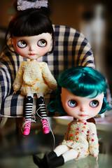 Thea & Otus, my super models today
