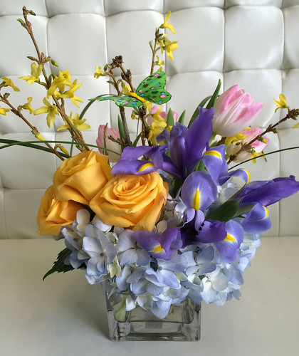 Spring Floral Arrangement - Shirley's Flowers & Gifts, Inc., in Rogers, Ark.