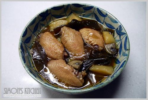 和風海帶煮雞翅10