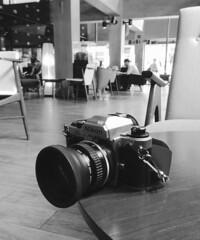Nikon FA (jcbkk1956) Tags: camera blackandwhite slr analog 35mm thailand mono nikon bangkok manual nikkor fa nikonfa 50mmf18