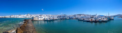 Naousa port, Paros island (kostaschrstdls) Tags: travel sea summer vacation seascape nature architecture landscape holidays mediterranean greece grecia paros naousa cyclades waterscape canos canonphotography cycladesaegean