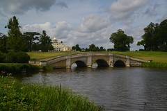 The Mansion & Bridge over the Lake, Stoke Poges, Buckinghamshire (barry.marsh1944) Tags: bridge lake buckinghamshire mansion stoke poges