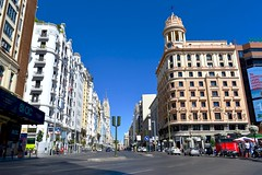 Gran Vía, Madrid. (M Roa) Tags:
