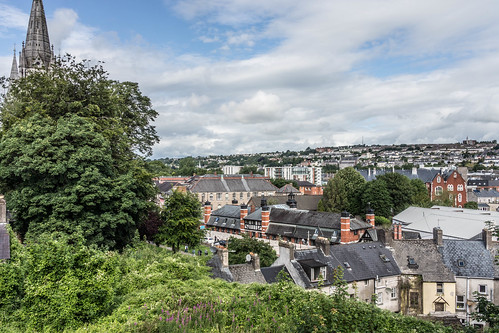 VIEWS OF THE CITY FROM THE WALLS OF ELIZABETH FORT [CORK] REF-106671