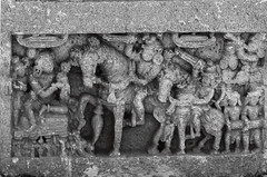 Agrahara Bachahalli (KA India) (Swaminathan Natarajan) Tags: karnataka hoysala agrahara bachahalli photography swaminathannatarajanphotography herostone martyrdom stone memorialpillar war sacrifice india culture tradition travelphotography outdoors mandya krishnarajapet memorial unique archaeology horse elephant monochrome art