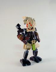Skyrise - Garuda (0nuku) Tags: bionicle lego baramagna spherusmagna botamagna zesk vorox agori glatorian sand tribe tan brown scorpion
