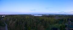 Helsingin niemi ja Vanhankaupunginlahti aamuvalaistuksessa (mattisunell) Tags: helsinki itähelsinki herttoniemi hyppyrimäki panoraama vanhankaupunginlahti