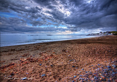 Beach After The Storm (Amazin' Gracie Photography) Tags: beach rain clouds canon massachusetts tokina hdr photomatix marbleheadma