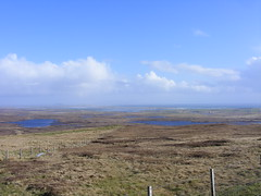 Water, water everywhere (leedslily) Tags: blue sea sky water grass island scotland north loch moor isle uist