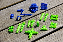 Venture kit parts (KidMechano) Tags: color mo v3 figure kit molded modibot