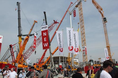 New cranes at bauma