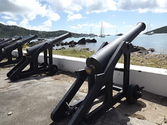 "Canons still guard Charlotte Amalie Harbor, St. Thomas • <a style=""font-size:0.8em;"" href=""http://www.flickr.com/photos/71018430@N04/9037898302/"" target=""_blank"">View on Flickr</a>"