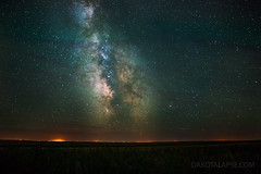 Airglow and Milky Way (dakotalapse) Tags: night southdakota way stars astrophotography milky milkyway